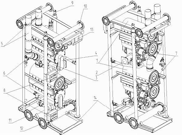 Конструкція модуля МН-240